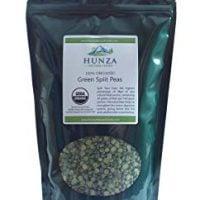 Hunza Organic Green Split Peas