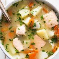 Russian Fisherman Soup - Uha