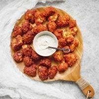 Sweet & Spicy Cauliflower Bites - 2 Ways