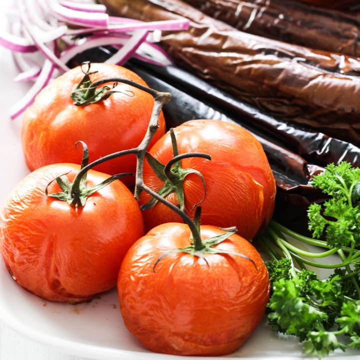 Armenian Grilled Vegetables - KHOROVATS