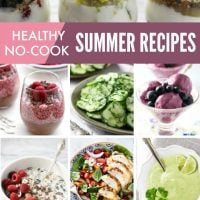 Healthy No-Cook Recipes for Hot Summer Days