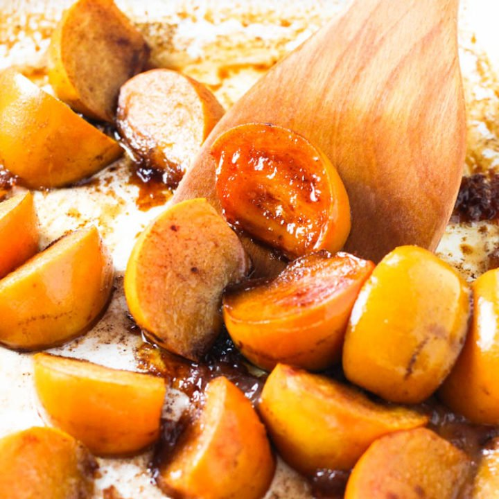 Easy Baked Persimmons