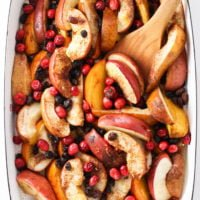 Fall and Winter Baked Fruit (No Added Sugar!)