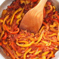 Peperonata (Stewed Bell Peppers Recipe)