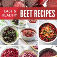 Easy Healthy Beet Recipes: Salads, Side Dishes, and More!