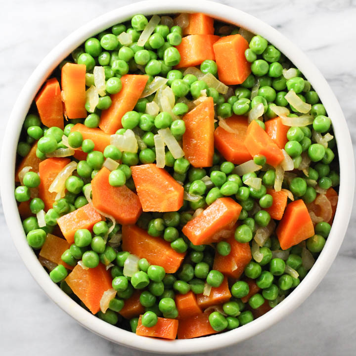Peas and Carrots Recipe