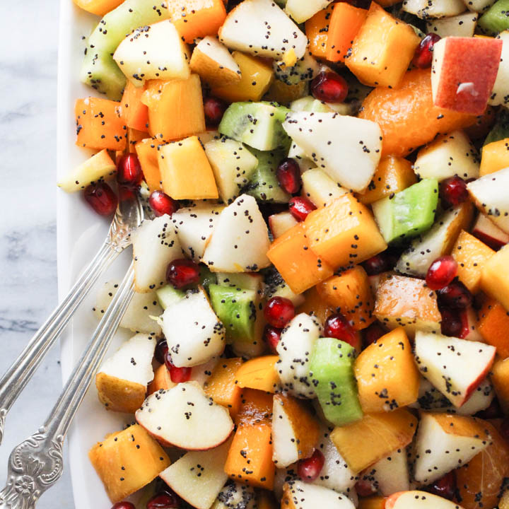 Fall and Winter Fruit Salad